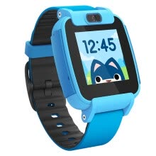 -Sogou Sugar Cat Child Phone Watch Video Edition T3 Color Phone Camera Children's Smart Watch Waterproof GPS Positioning Student Watch Mobile Blue on JD