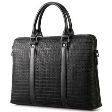 -Aokang Men's Handbag Business Handbag Men's Crossing Briefcase Bag Messenger Bag 8631225031 Black on JD