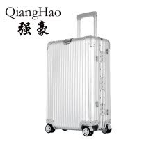 luggage-suitcases-QiangHao 20'24'29 inch 100% pure Aluminum Alloy pull rod suitcase TSA customs lock silent universal wheel hard metal luggage on JD