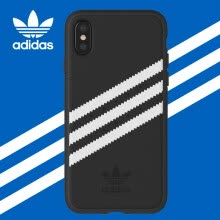 -adidas (ipad) new iphone X full screen shamrock deerskin shatter-resistant mobile phone case protective cover for Apple iPhone 10 power black on JD