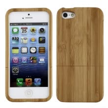 -Natural Bamboo Wood Hard Back Case Cover Protector for Apple iPhone 5 5S on JD