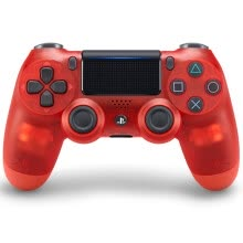 875062512-SONY (PS4 official accessories) PlayStation 4 game controller (crystal red) 17 version on JD