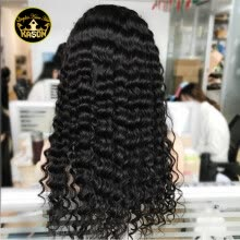 -Affordable Curly Wig Glueless Full Lace Human Hair Wigs For Black Women Brazilian Virgin Human Hair Wig Deep Curly Full Lace Wig on JD