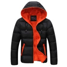 875061442-Winter Men Jacket 2017 New Brand High Quality Candy Color Warmth Mens Jackets And Coats Thick Parka Men Outwear XXXL on JD